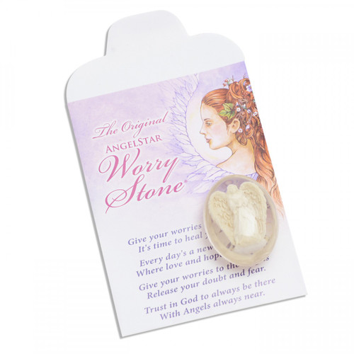 Angel Worry Stone - Angelite