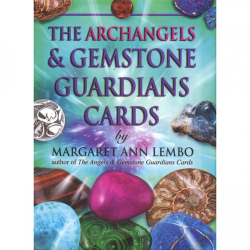 The Archangels & Gemstone Guardians Cards by Margaret Ann Lembo