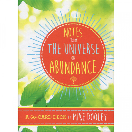Notes From the Universe on Abundance Oracle Cards