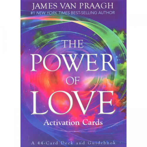 The Power of Love Activation Oracle Cards by James Van Praagh