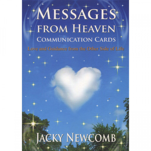 Messages From Heaven Communication Cards by Jacky Newcomb