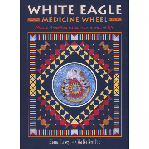 White Eagle Medicine Wheel (Card & Book Set)