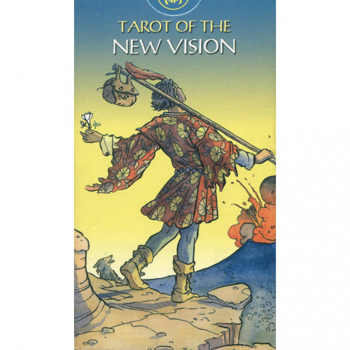 Tarot of The New Vision Cards (& Book Set)