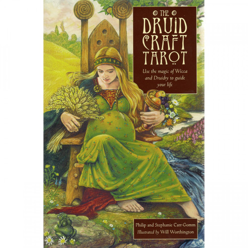 The Druid Craft Tarot (Cards & Book Set) by Philip and Stephanie Carr-Gomm