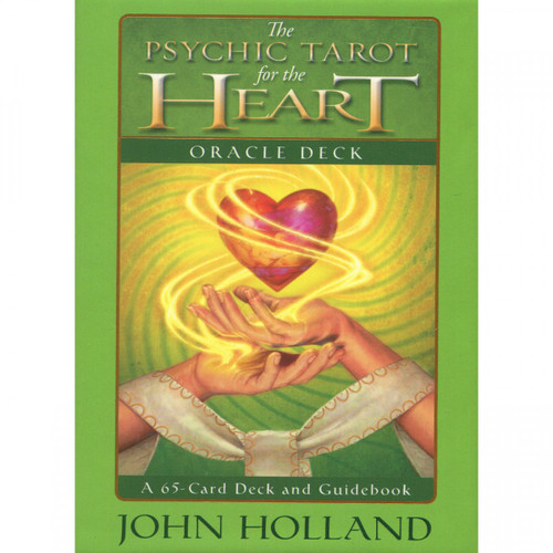 Psychic Tarot for the Heart Oracle Cards by John Holland