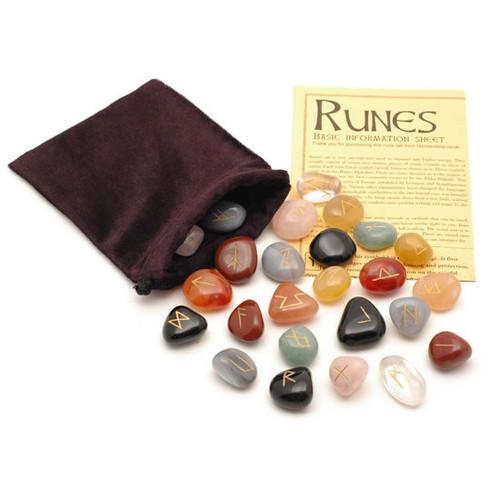 Mixed Crystal Rune Stones