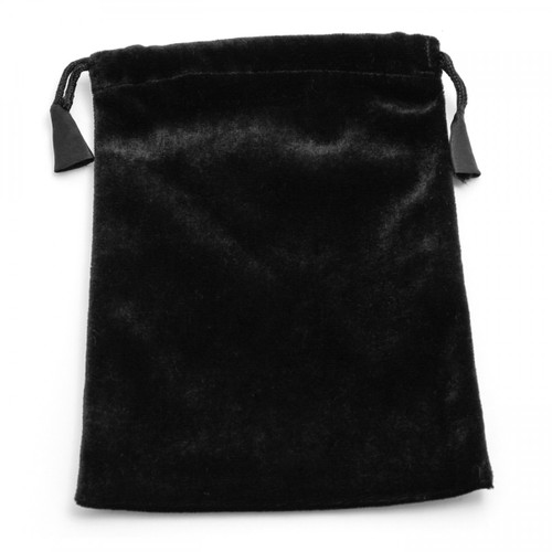 Large Black Velvet Tarot/Angel Card Bag