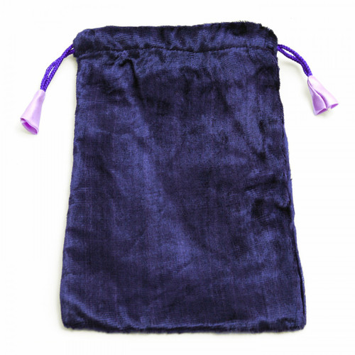 Large Purple Velvet Tarot / Oracle Card Bag