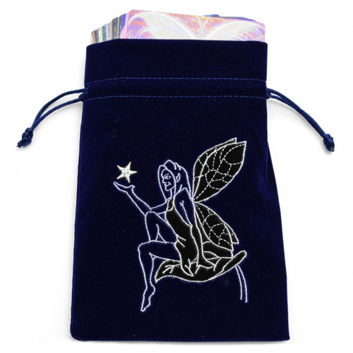 Navy Fairy Tarot / Oracle Card Bag