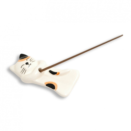 Authentic Japanese Cat Incense Holder