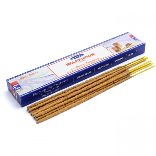 Relaxation Satya Incense Sticks (Yoga Series)