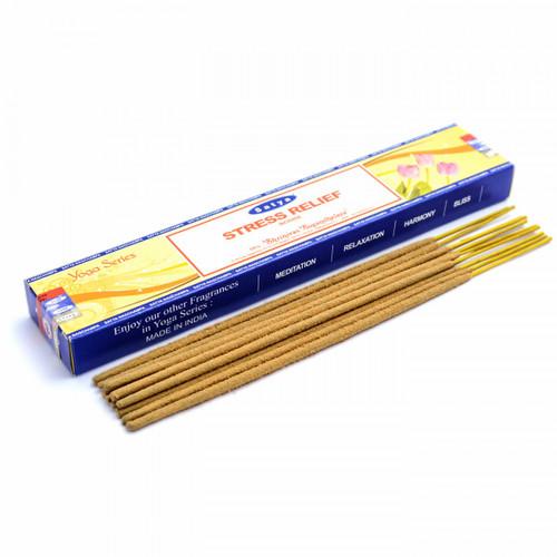 Stress Relief Satya Incense Sticks (Yoga Series)
