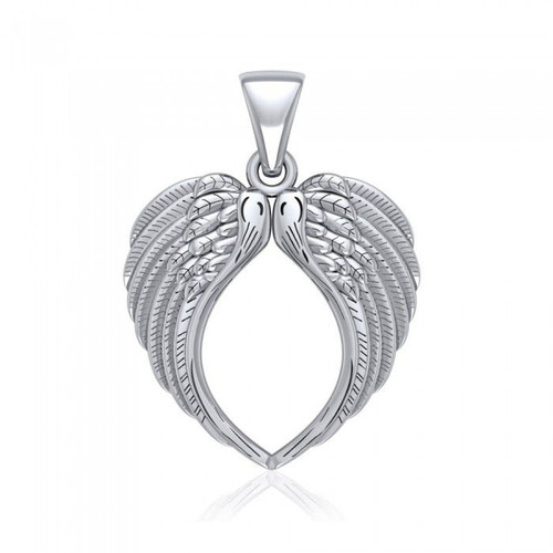 Angel Wing Pendant (Sterling Silver)