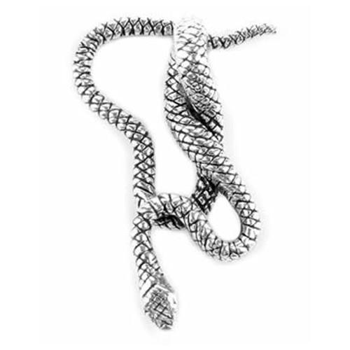 Snake/Serpent Pendant (Sterling Silver)