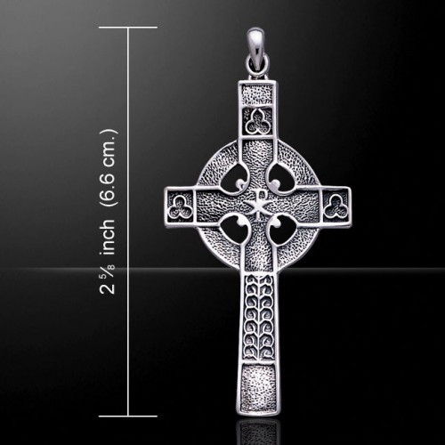 Celtic Cross Pendant (Sterling Silver)