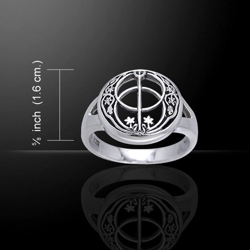 Chalice Well Ring (Sterling Silver)