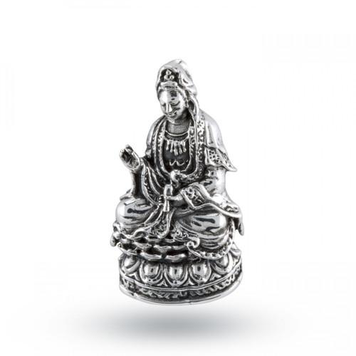 Kwan Yin Pendant (Sterling Silver)