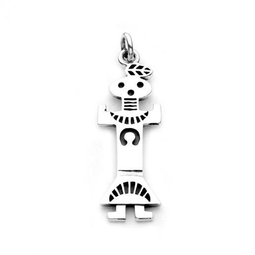 Navajo Yeii Spirit Charm / Pendant (Sterling Silver)