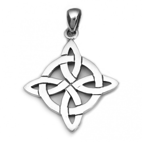 Four Become One Pendant (Sterling Silver)