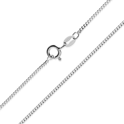 Sterling Silver Fine Curb Chain