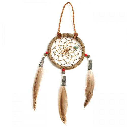 Small Rustic Navajo Dream Catcher (2 inch) by Curtis Bitsui