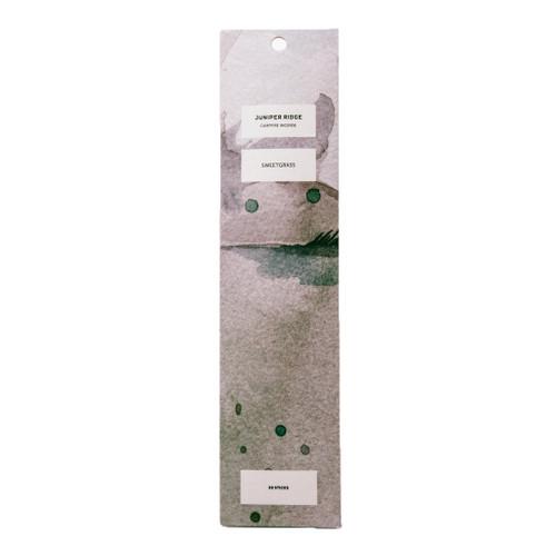 Sweetgrass Incense Sticks (Wild Harvested Incense)