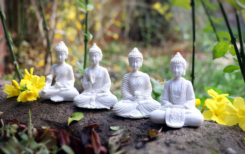 Mini Thai Buddhas (Set of 4)