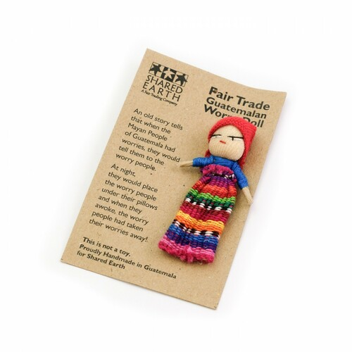 Single Guatemalan Worry Doll