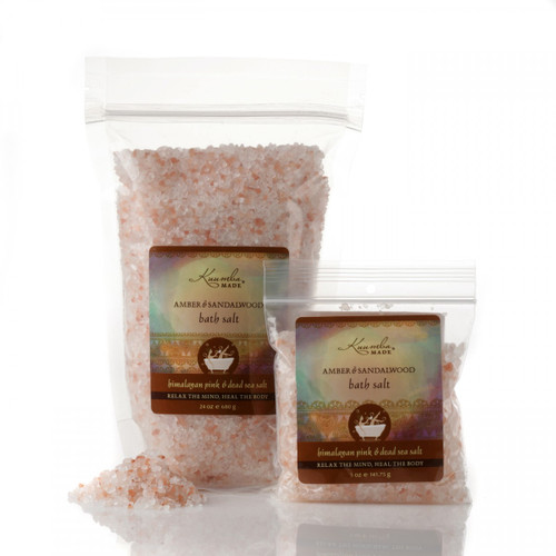 Amber & Sandalwood Bath Salt
