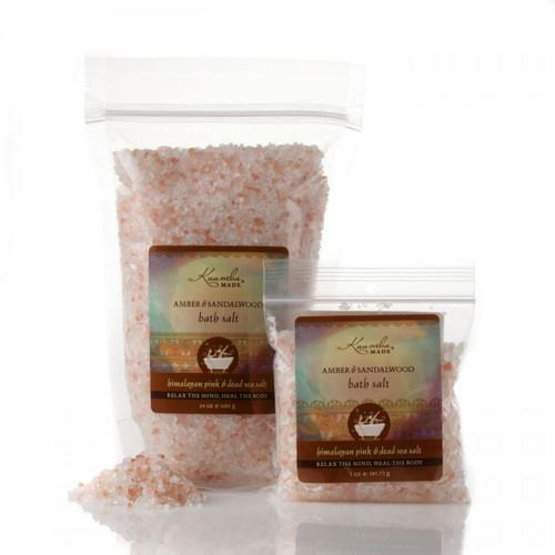 Kuumba Made Amber & Sandalwood Bath Salt