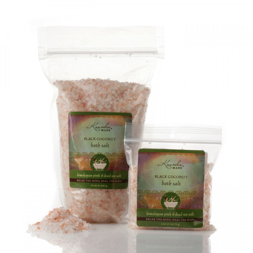 Kuumba Made Black Coconut Bath Salt
