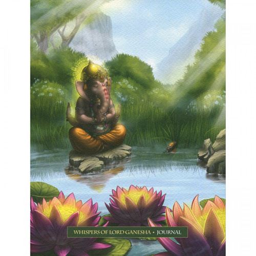Whispers of Lord Ganesha Journal by Angela Hartfield