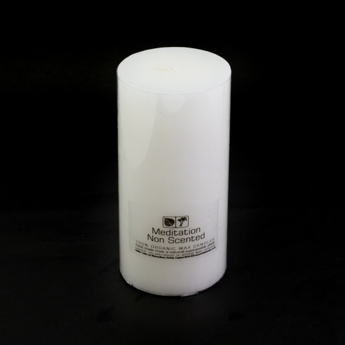 Large Non Scented Meditation Candle (7.5x15cm)