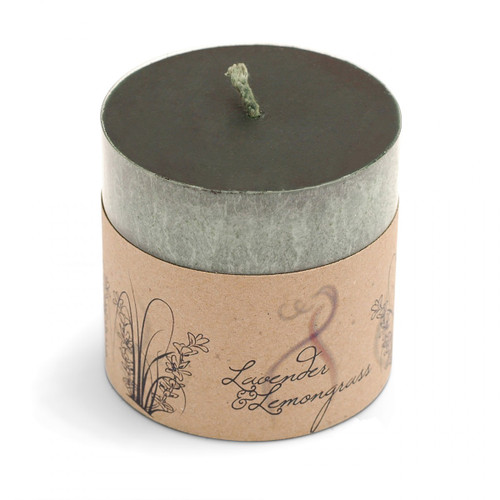 Lavender & Lemongrass Scented Candle