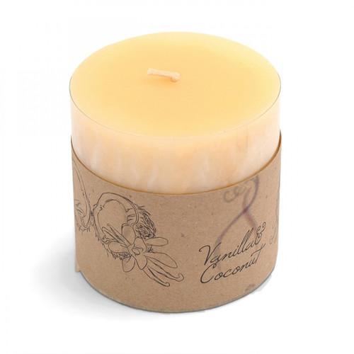 Vanilla & Coconut Scented Candle