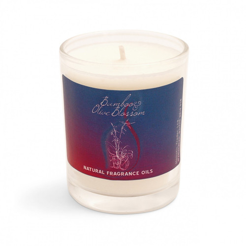 Bamboo & Olive Blossom Scented Candle