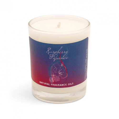 Raspberry & Quince Scented Candle