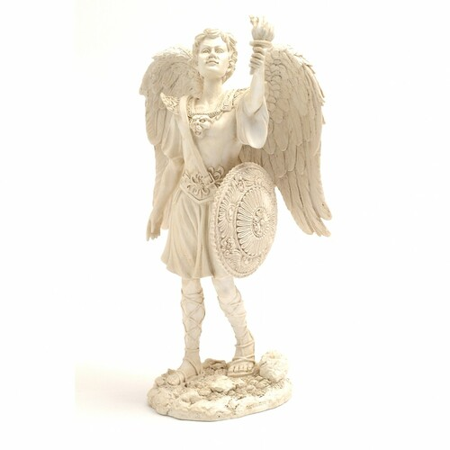 Archangel Uriel Figurine (9.5 Inch)