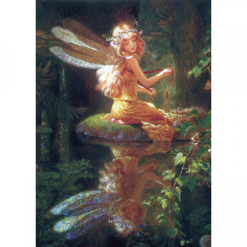 Faery Reflection Greeting Card (Blank)