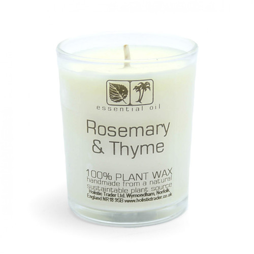 Rosemary & Thyme Aromatherapy Candle (25-30 Hours)