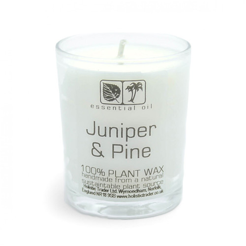 Juniper & Pine Aromatherapy Candle (25-30 Hours)