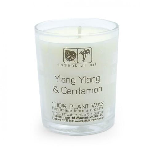 Ylang Ylang & Cardamon Aromatherapy Candle (25-30 Hours)