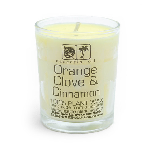 Orange Clove & Cinnamon Aromatherapy Candle (25-30 Hours)