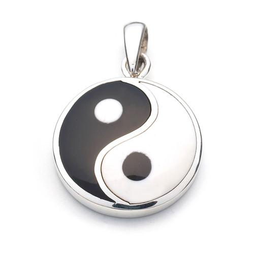 Yin Yang Pendant (Sterling Silver)