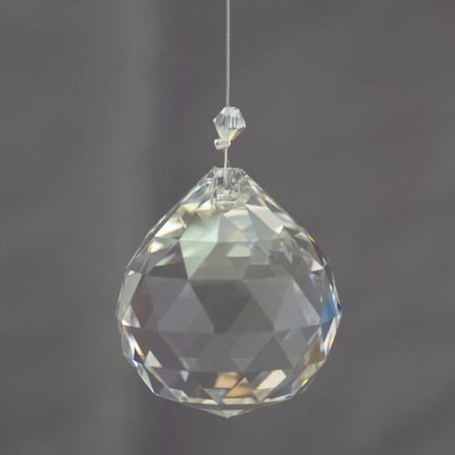 40mm Lead Crystal Sphere
