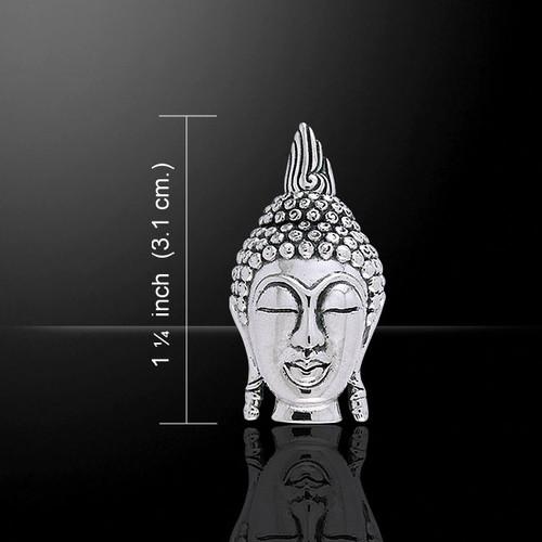 Divine Buddha Pendant (Sterling Silver)