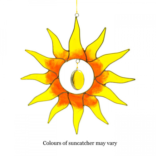 Large Sun Suncatcher Mobile
