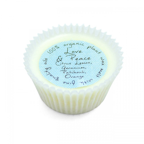 Love & Peace Wax Melt Tart (Organic)