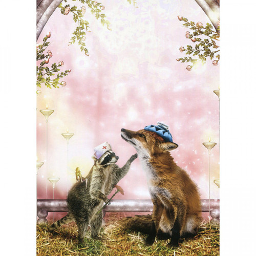 Healing Touch Greeting Card (Get Well Soon)
