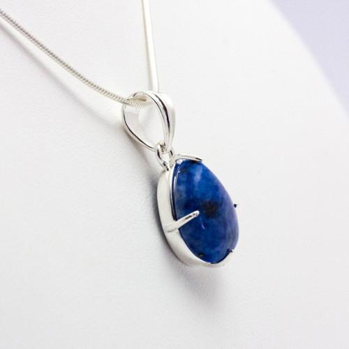 Lapis Lazuli Teardrop Pendant